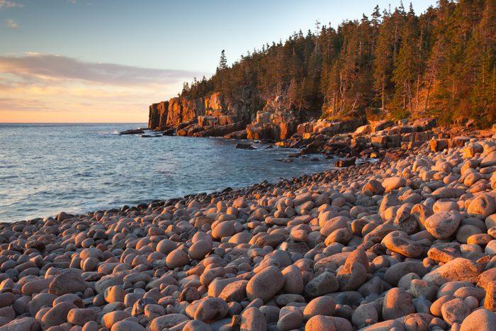 Otter Cliffs Seascape