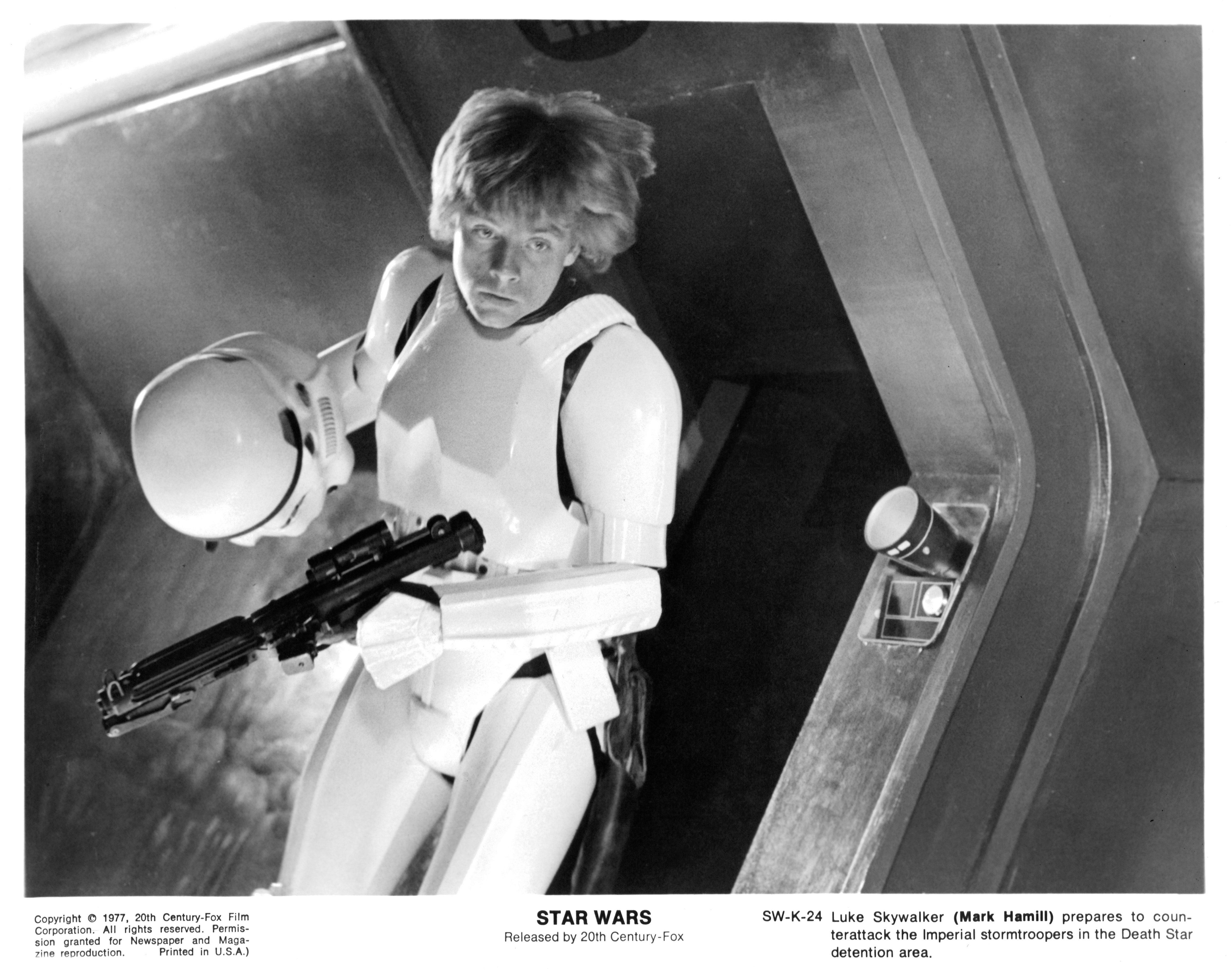 Mark Hamill In 'Star Wars'