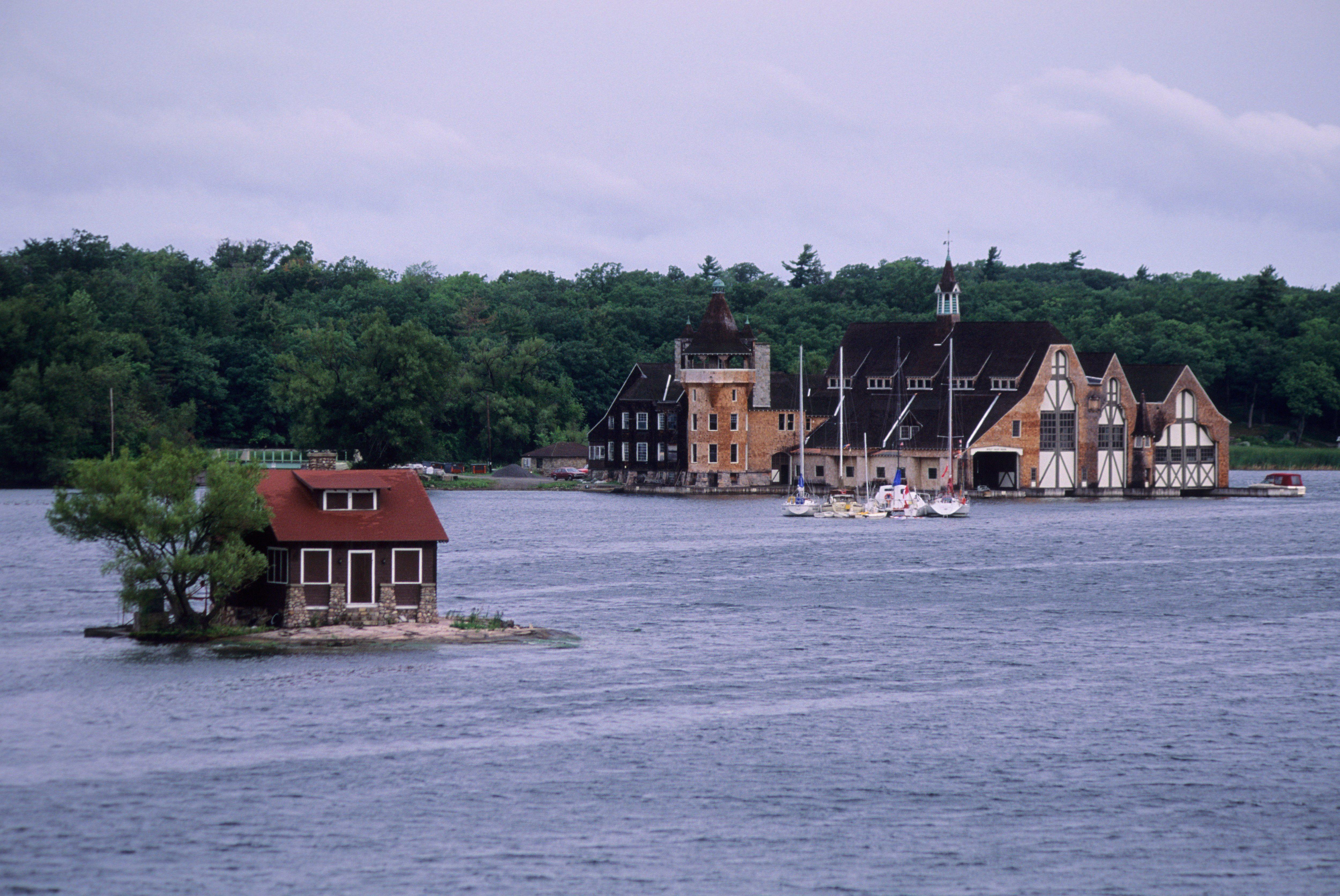 USA, New York, St. Lawrence Seaway, Thousand Islands...