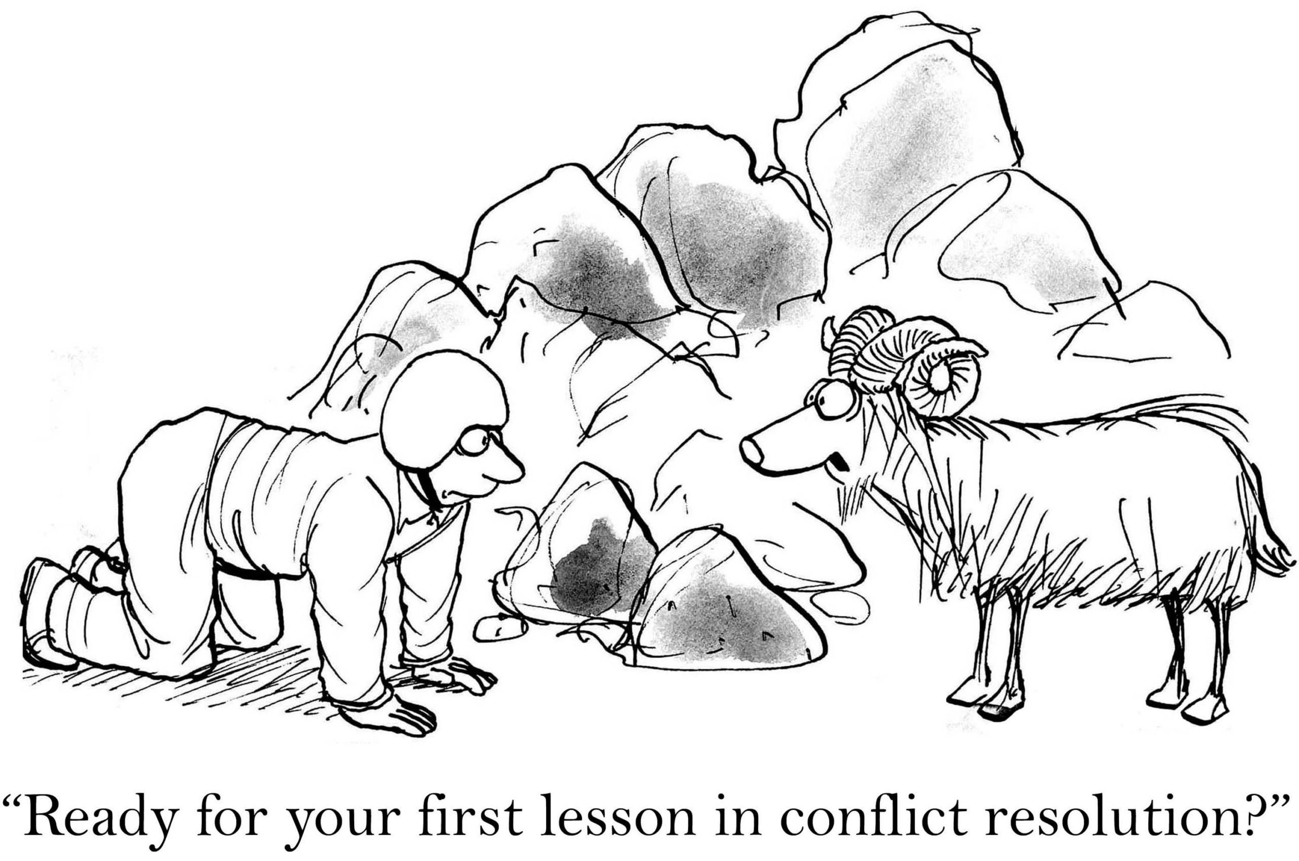 Lesson in Conflict Resolution
