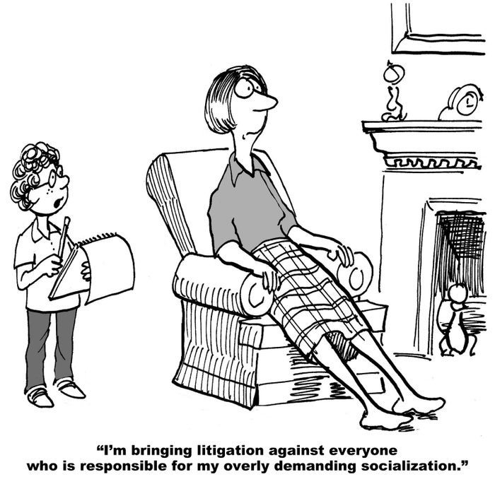 Litigation Starts at a Young Age