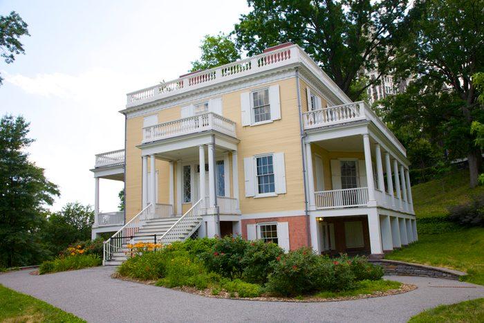 Historic Colonial era building in NY park
