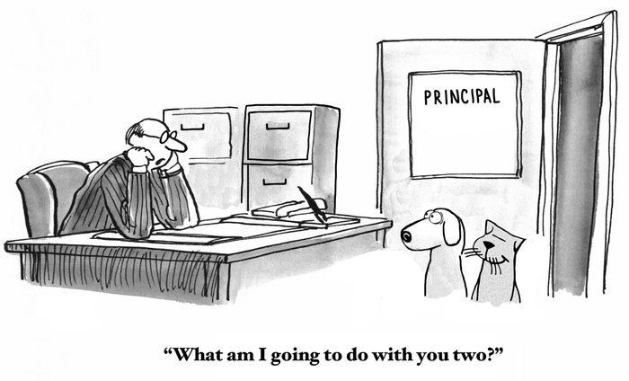 Sent to Principal's Office
