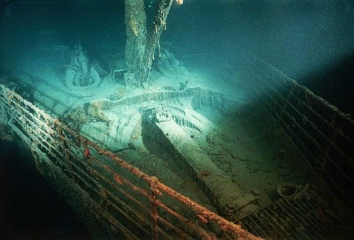 Forepeek of Titanic Shipwreck