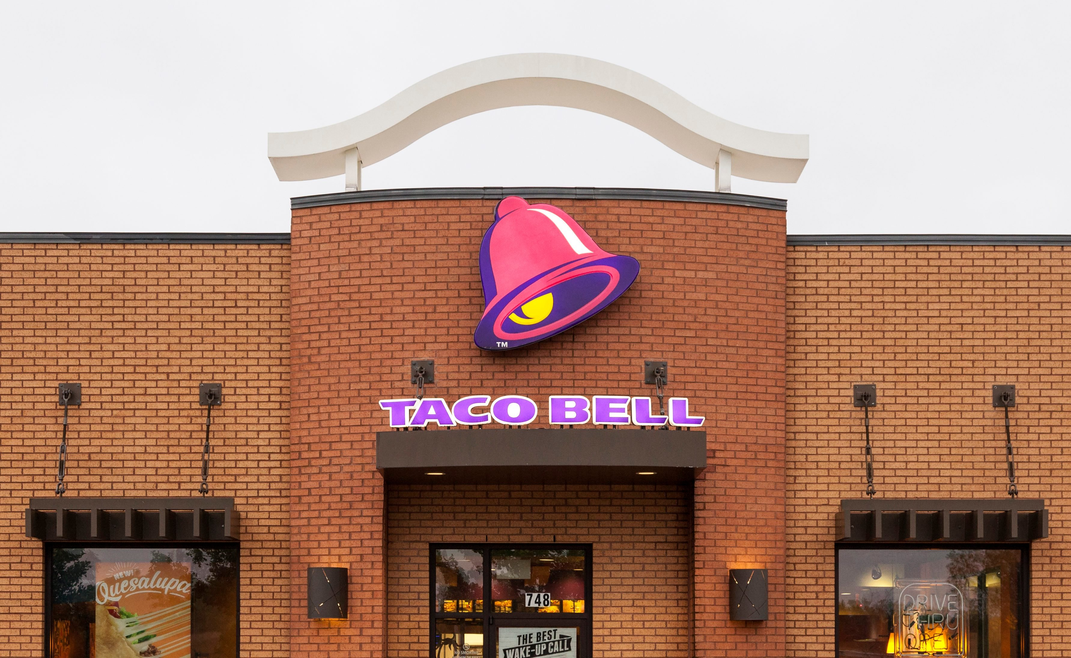 Taco Bell Restaurant in Dallas, Texas
