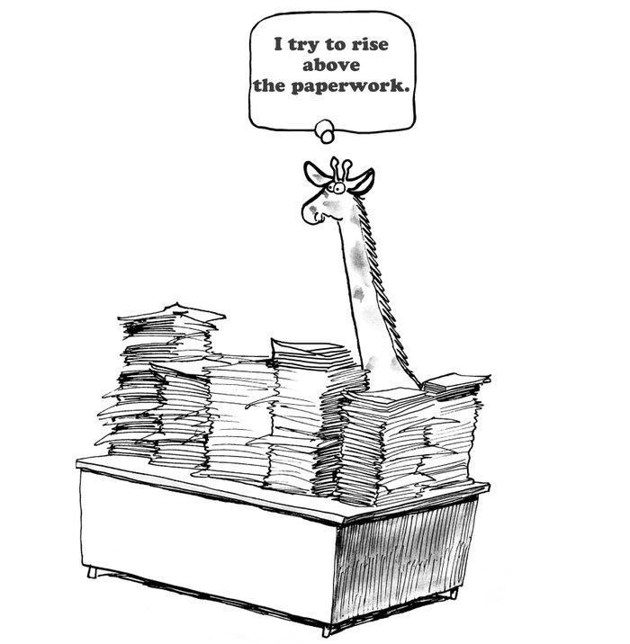 Rise Above Paperwork