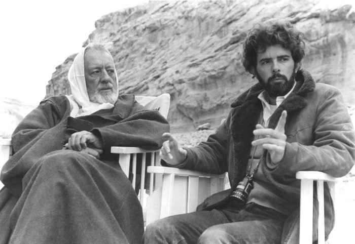 On the set of Star Wars: Episode IV - A New Hope