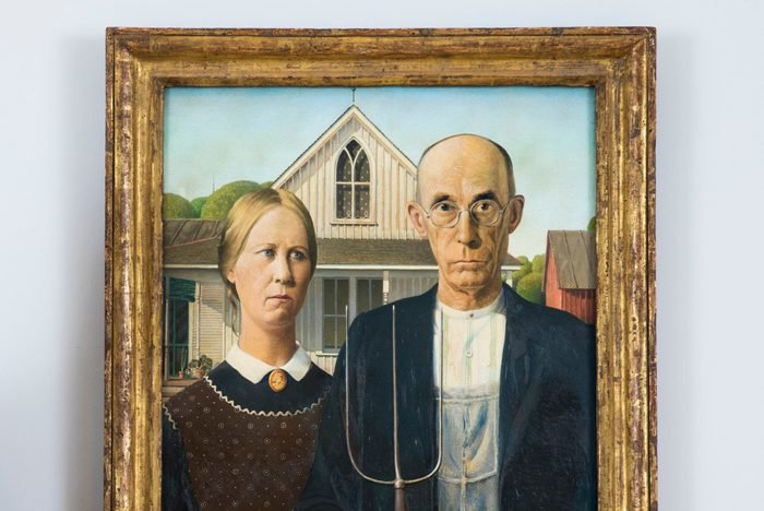 American Gothic Is Unveiled At The Royal Academy Ahead Of The Exhibition America After The Fall: Painting In The 1930s
