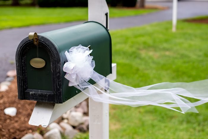 Mailbox with Bow