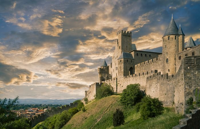 The fortified city of Carcassonne
