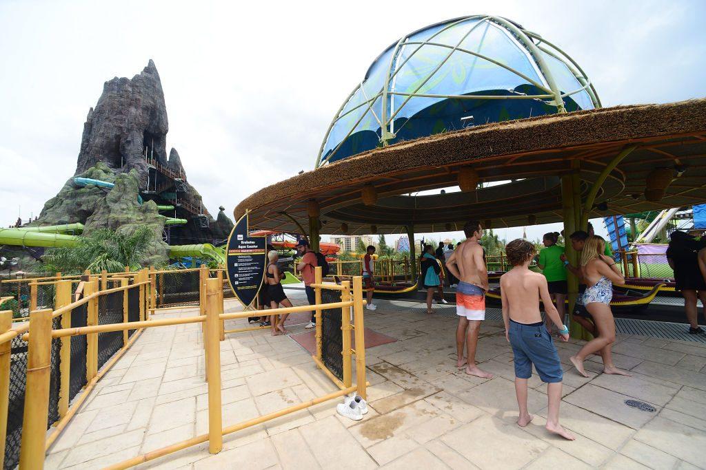 Grand Opening Of Universal's Volcano Bay