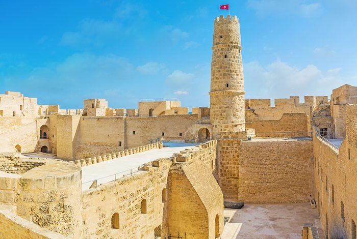 Medieval defensive fortress of Monastir