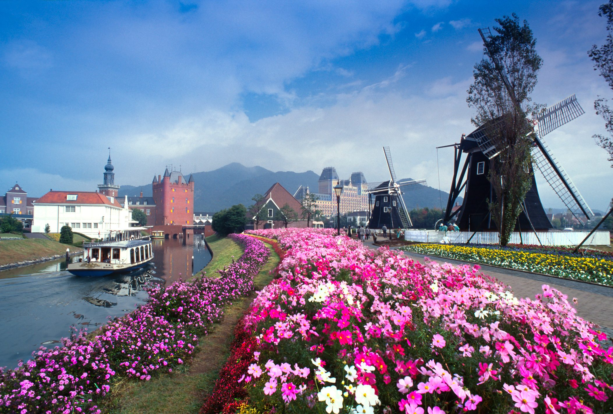 Huis Ten Bosch a Dutch city in Kyushu Japan