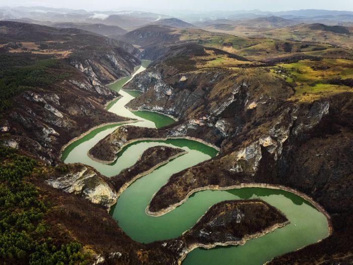 Meanders of Uvac