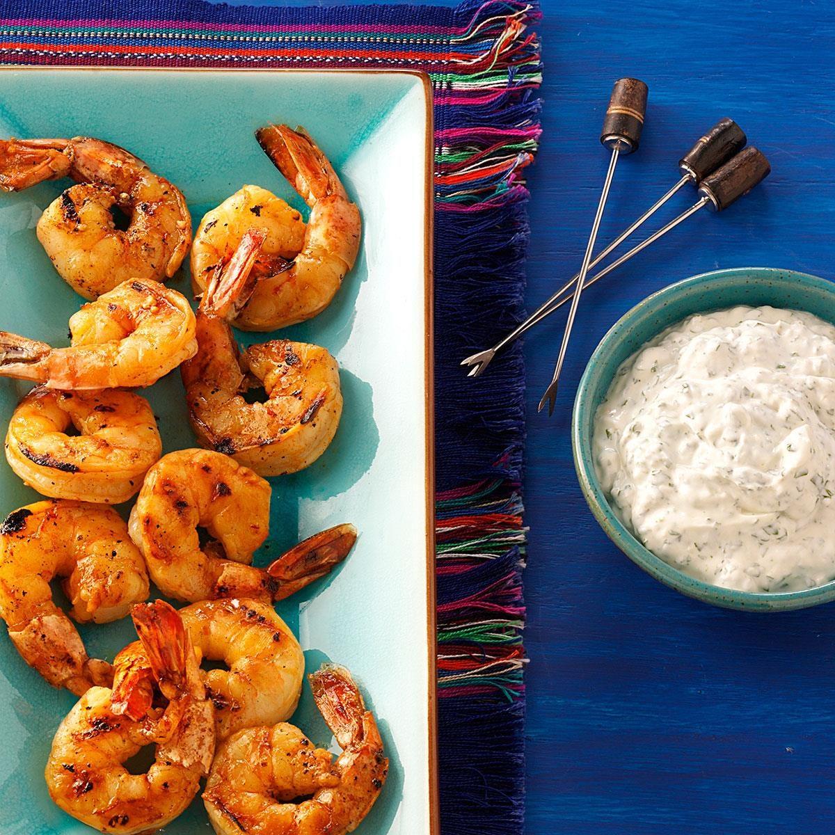 South Carolina: Grilled Chipotle Shrimp