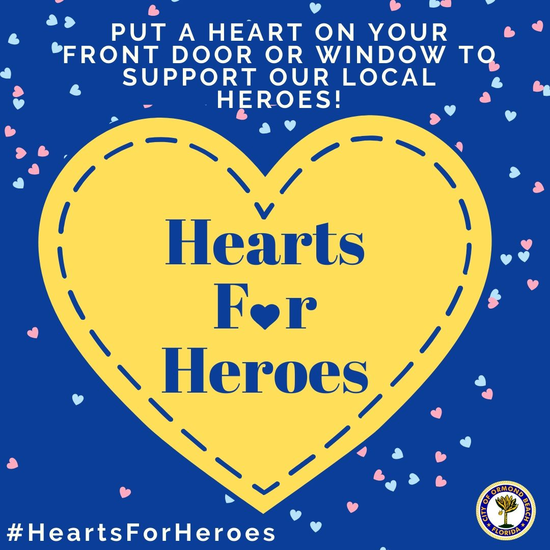 hearts for heroes campaign