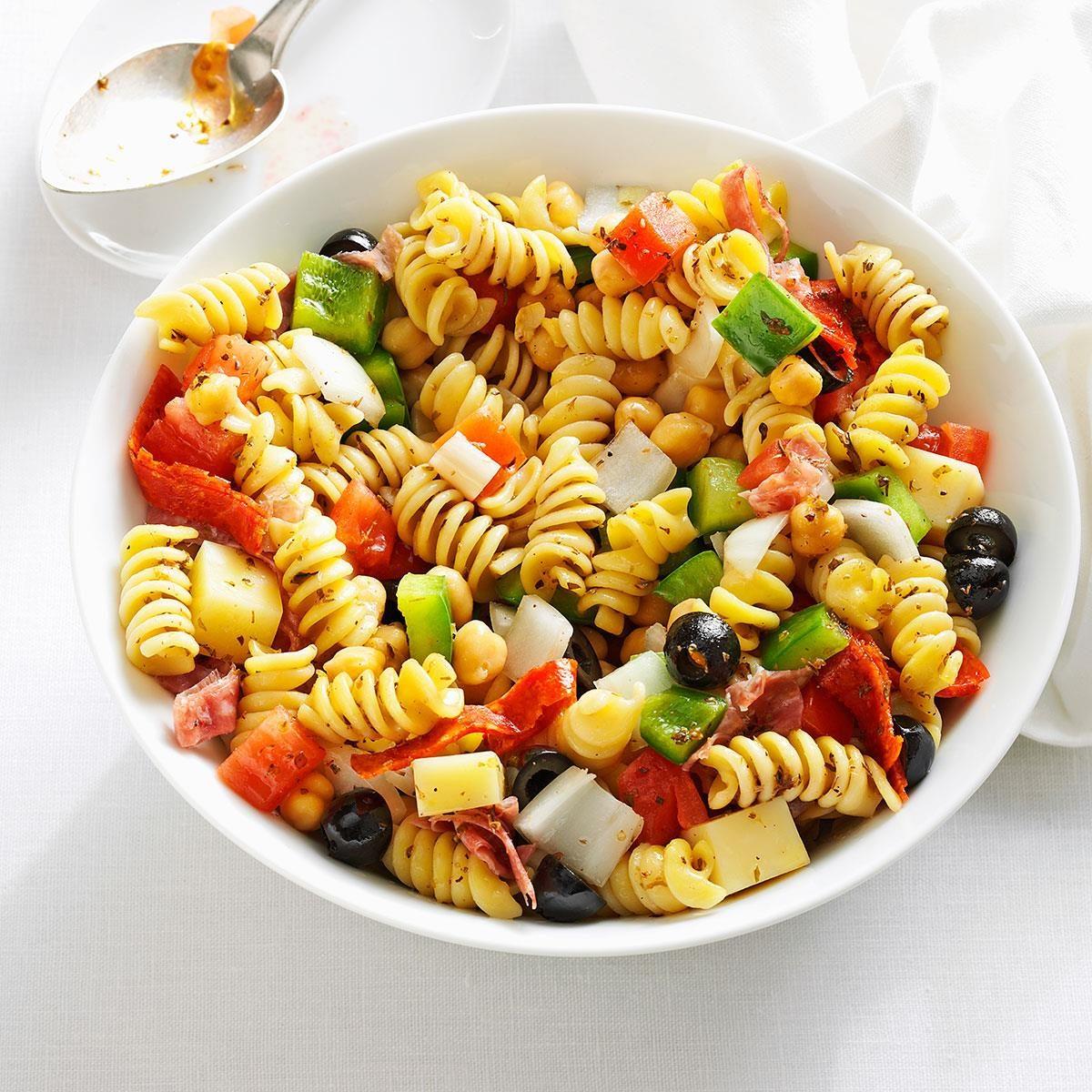 New Hampshire: Homemade Antipasto Salad