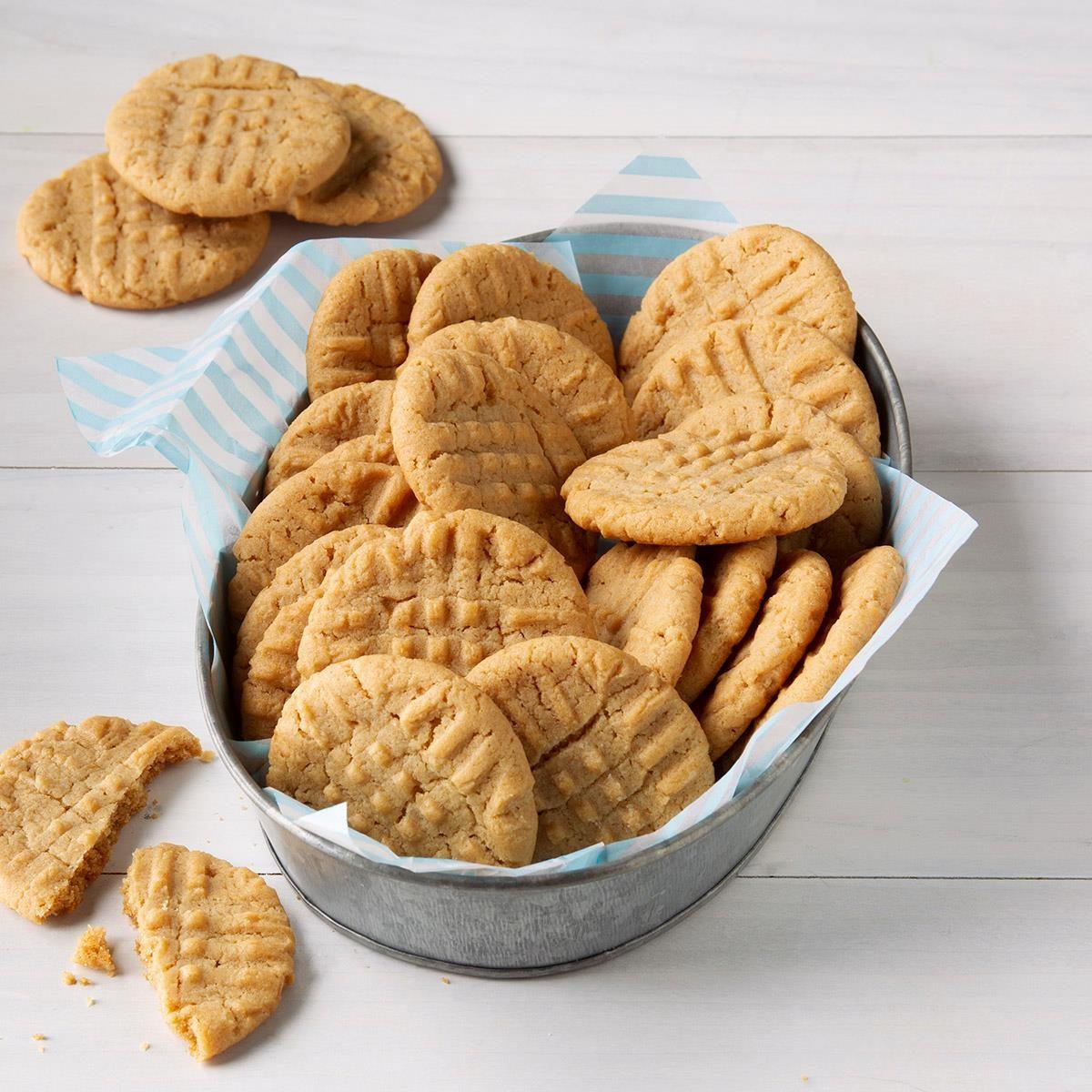 Utah: Honey-Peanut Butter Cookies