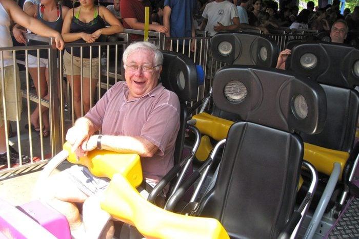 Paul Ruben at Six Flags New England Agawam Ma