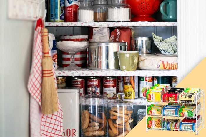 open kitchen pantry; with suggested product