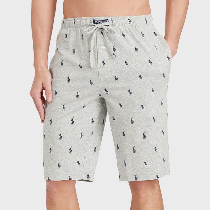 Ralph Lauren Logo Pajama Shorts