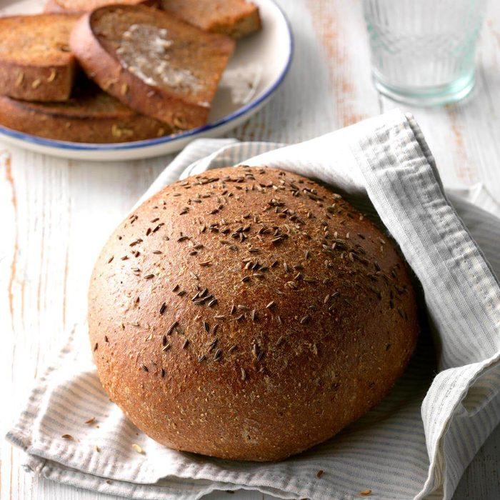 Scorpio: Rustic Rye Bread