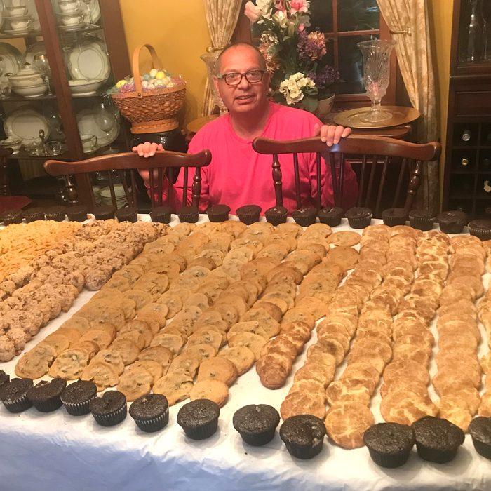 The thousand-cookie marathon