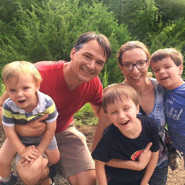 Christopher Ingraham and family