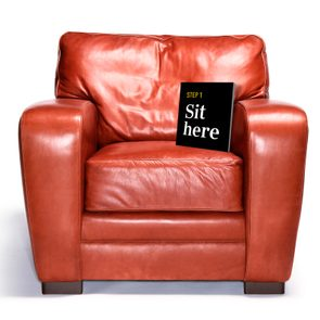 chair. step 1: sit here