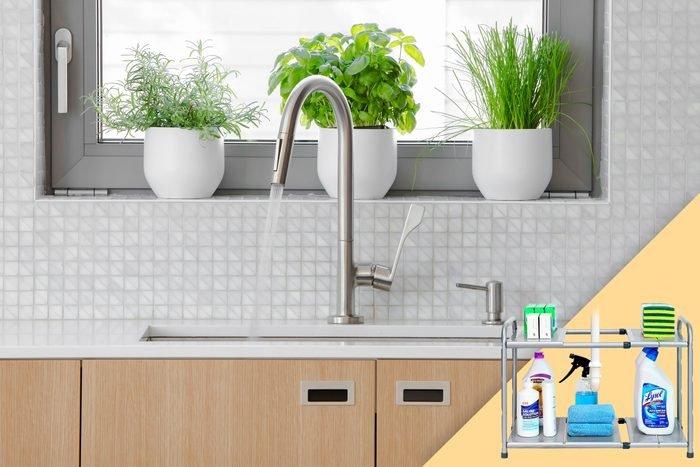 kitchen sink; with suggested product