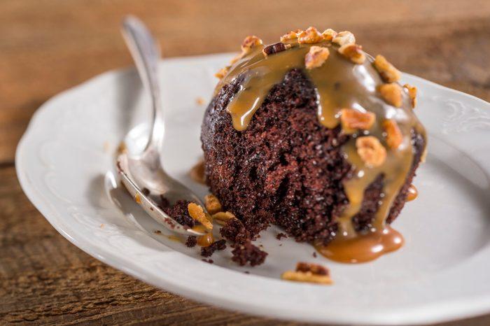 Epcot Chocolate Cake with Caramel