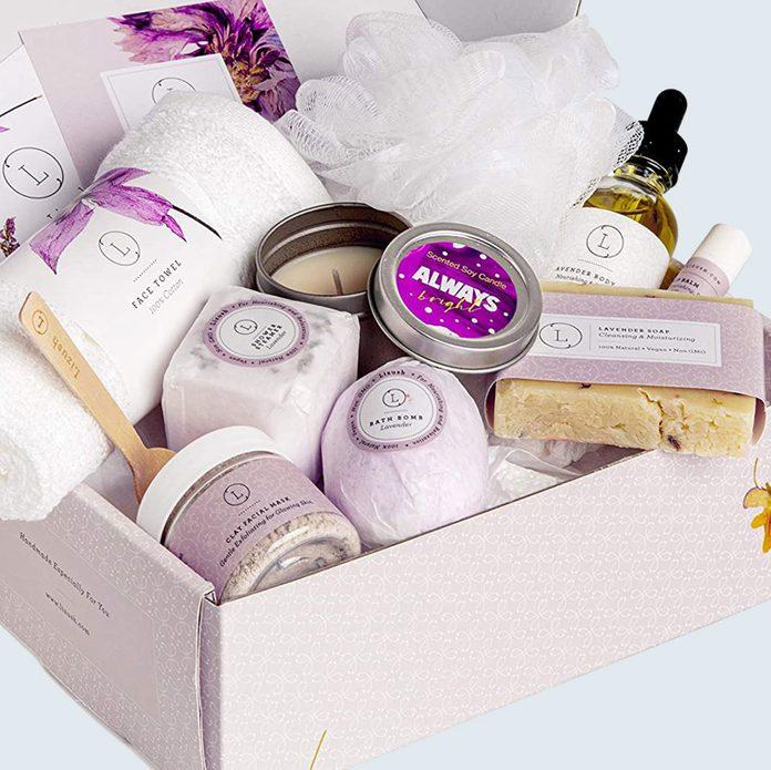 Lizush Lavender Gift Basket