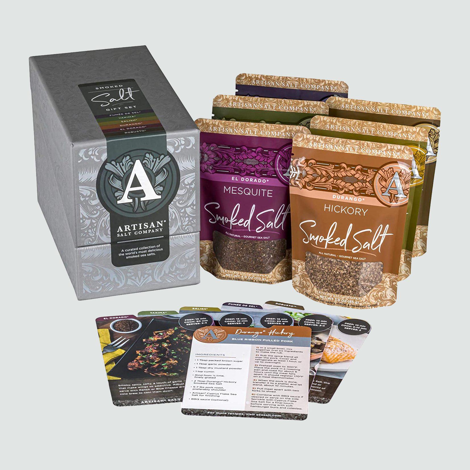 SaltWorks Smoked Salt Gift Set