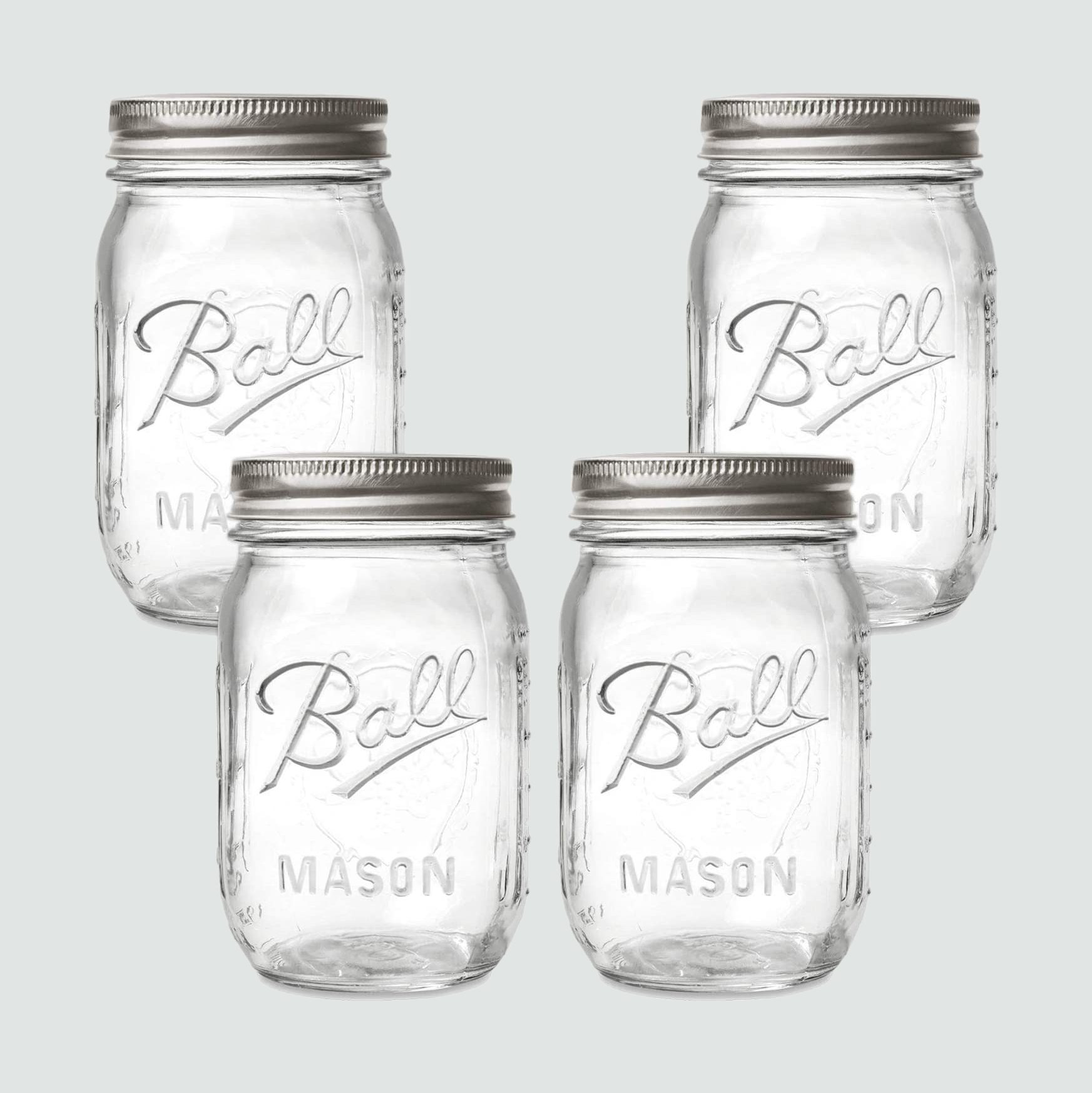 Ball Mason jars, 4 pack