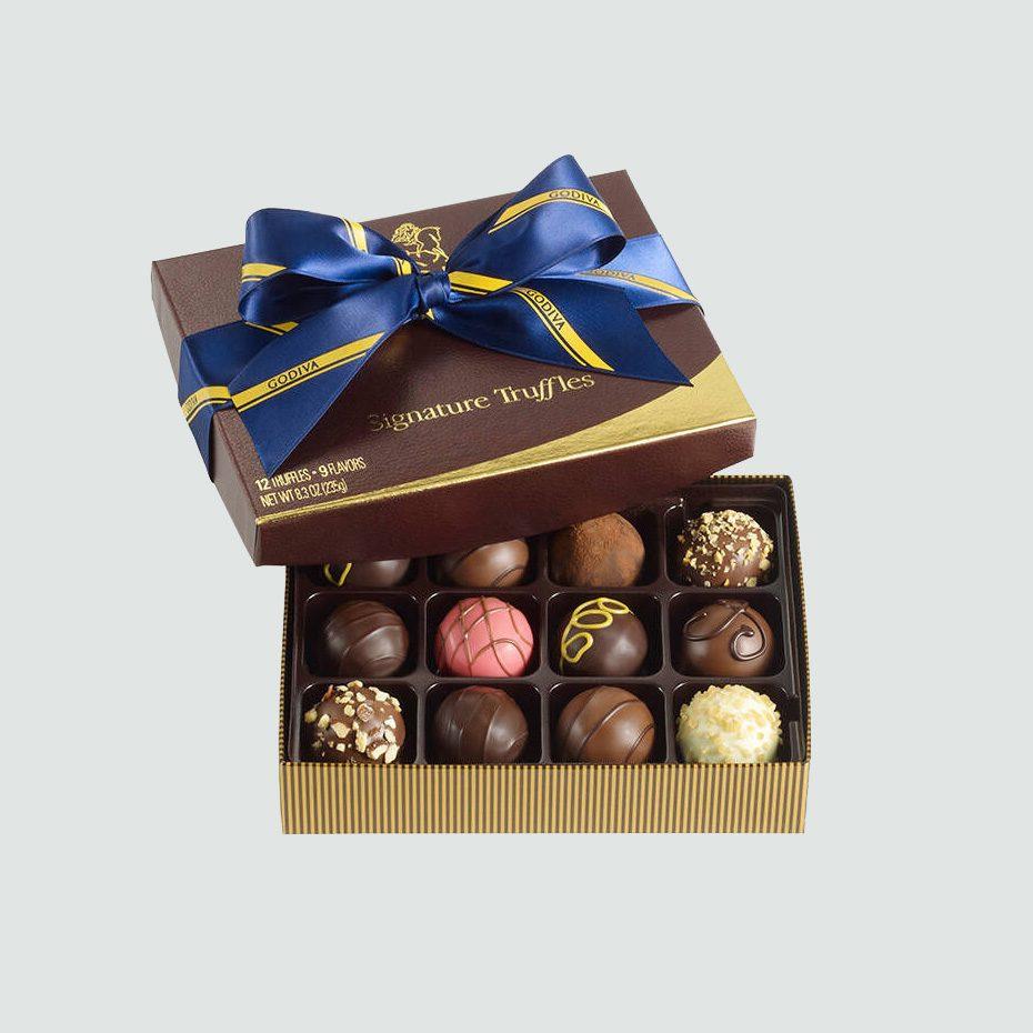 Godiva Signature Chocolate Truffles 12-Piece Box