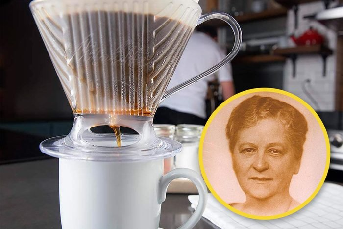 coffee filter and founder