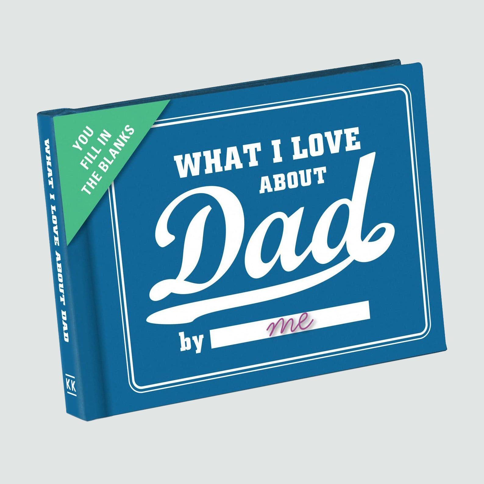 What I Love About Dad Fill-in-the-Blank Journal