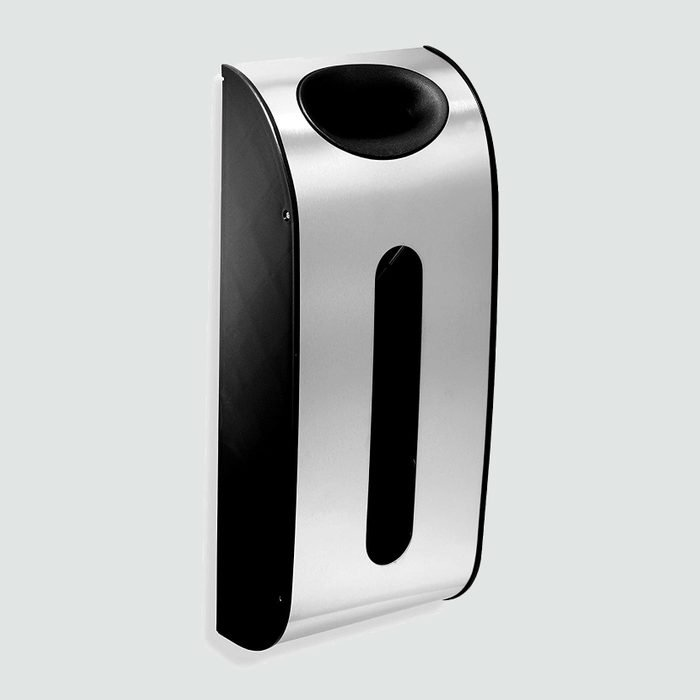 Simplehuman wall-mounted grocery bag dispenser