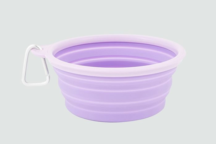Travel food and water bowls