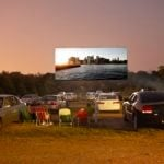 Some Restaurants Are Converting Their Parking Lots Into Drive-In Movie Theaters