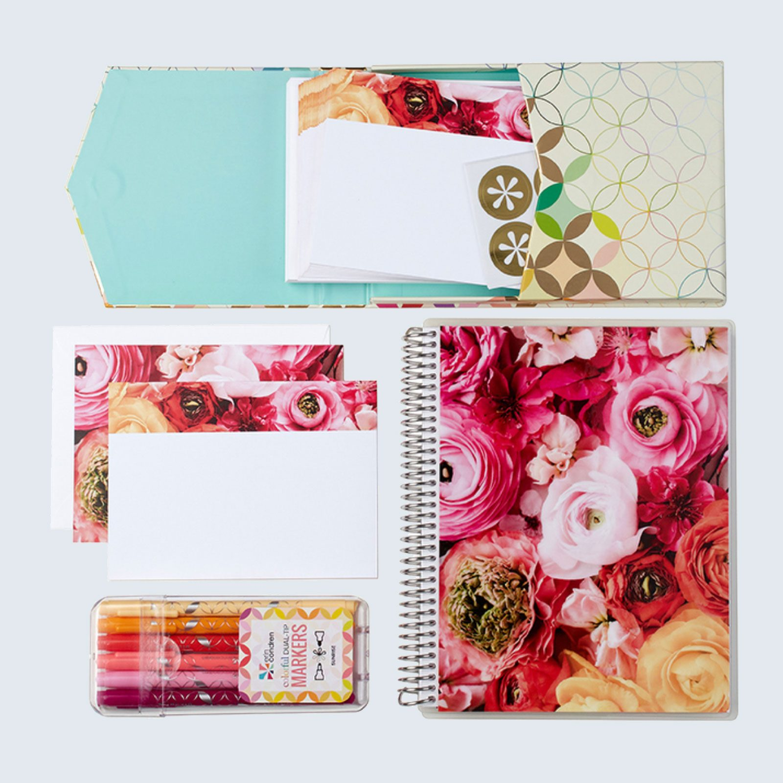 Green Wedding Shoes x Erin Condren Stationery Bundle