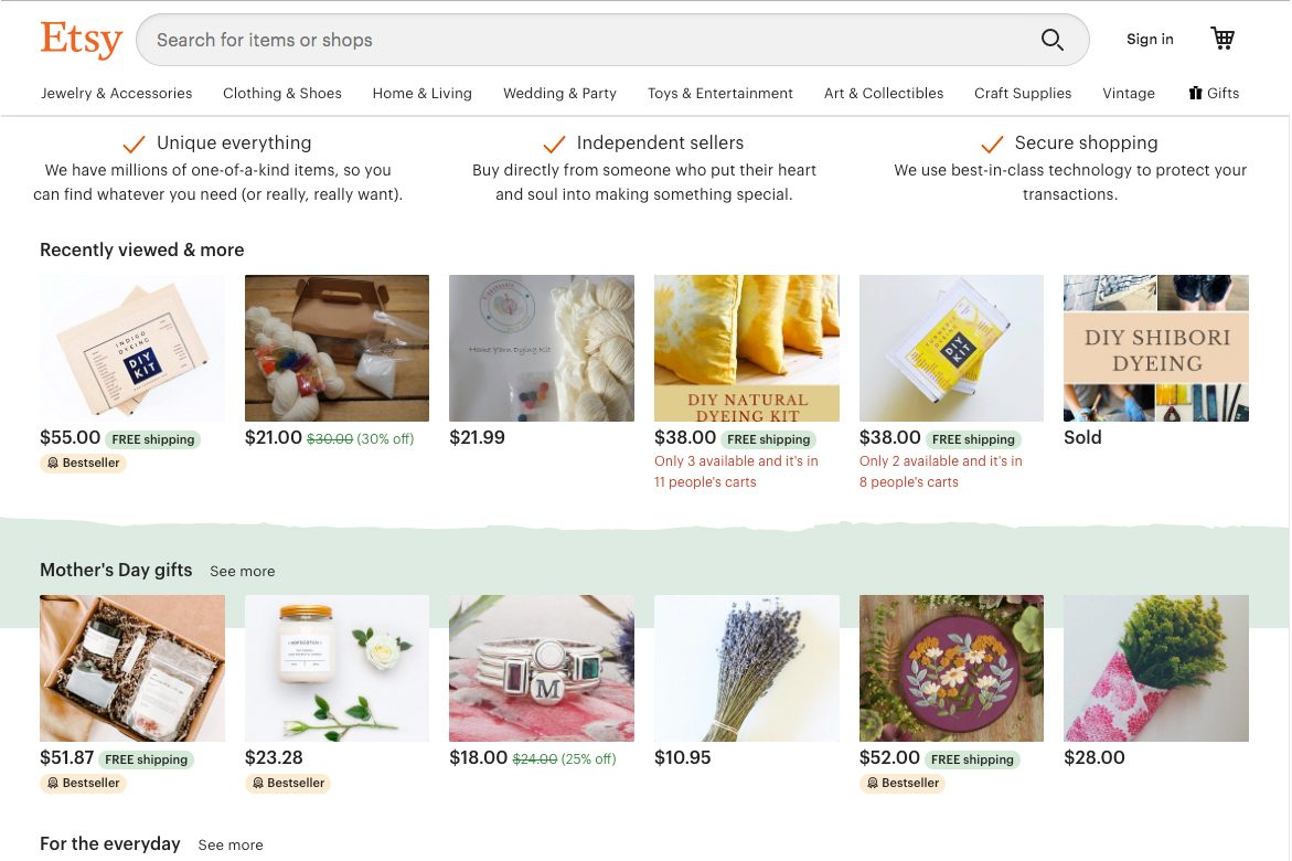 All things handmade and crafty: Etsy deliery