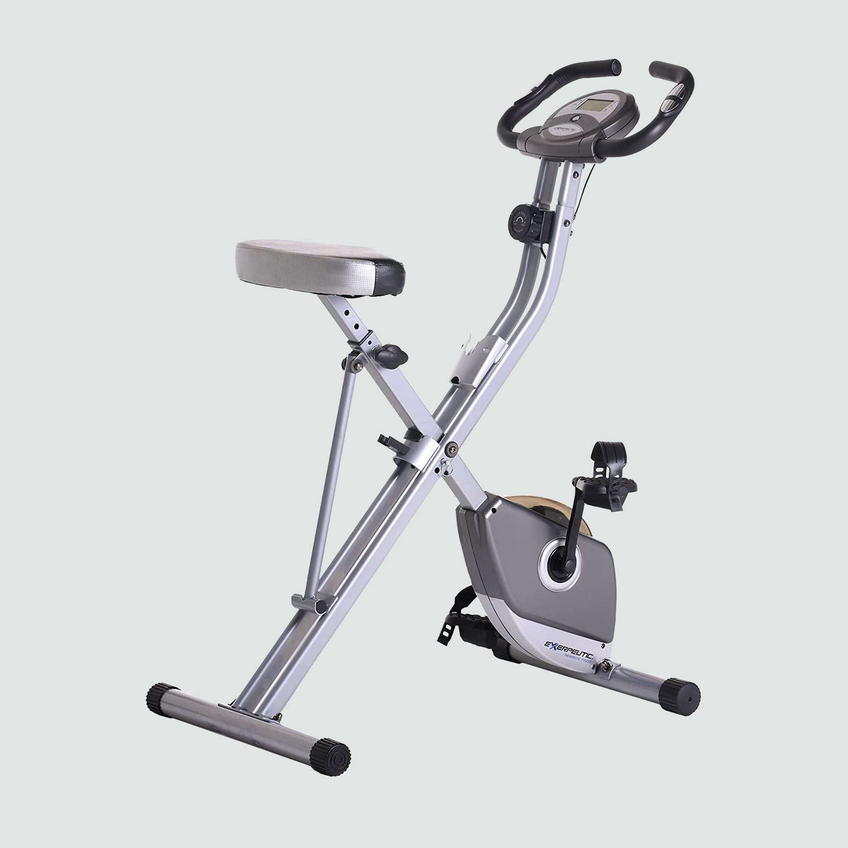An exercise bike for fitness