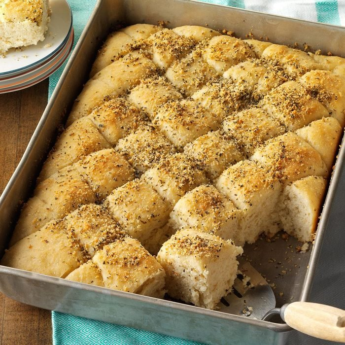 Pisces: Herbed Oatmeal Pan Bread