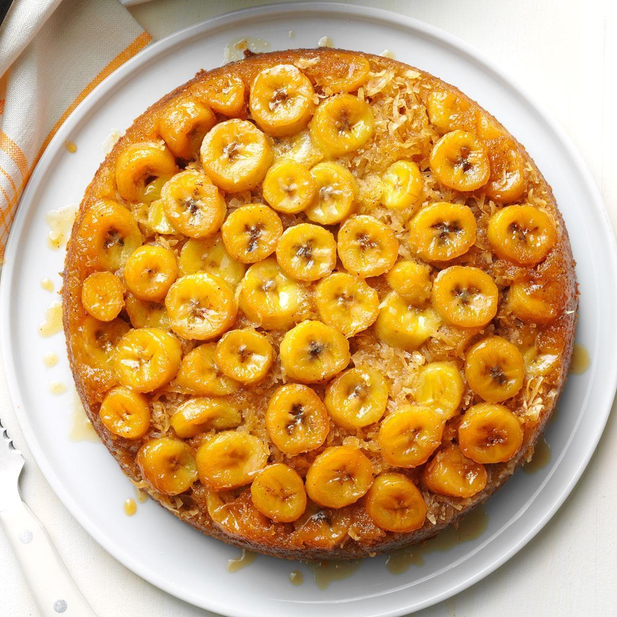 Tennessee: Banana Skillet Upside-Down Cake