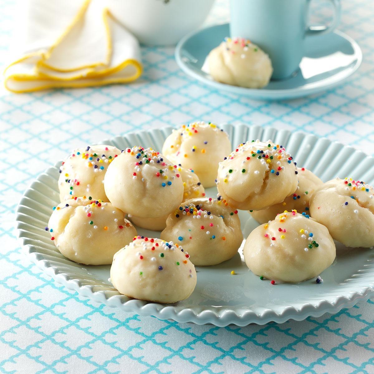 New York: Italian Sprinkle Cookies