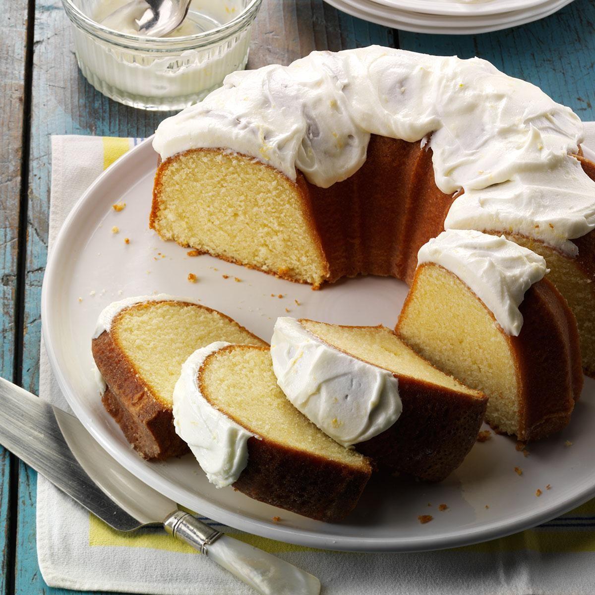 California: California Lemon Pound Cake