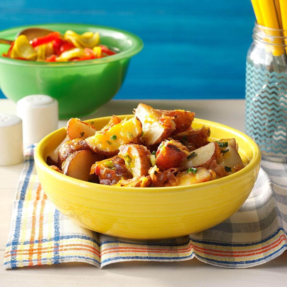 Idaho: Grilled Potato Packets