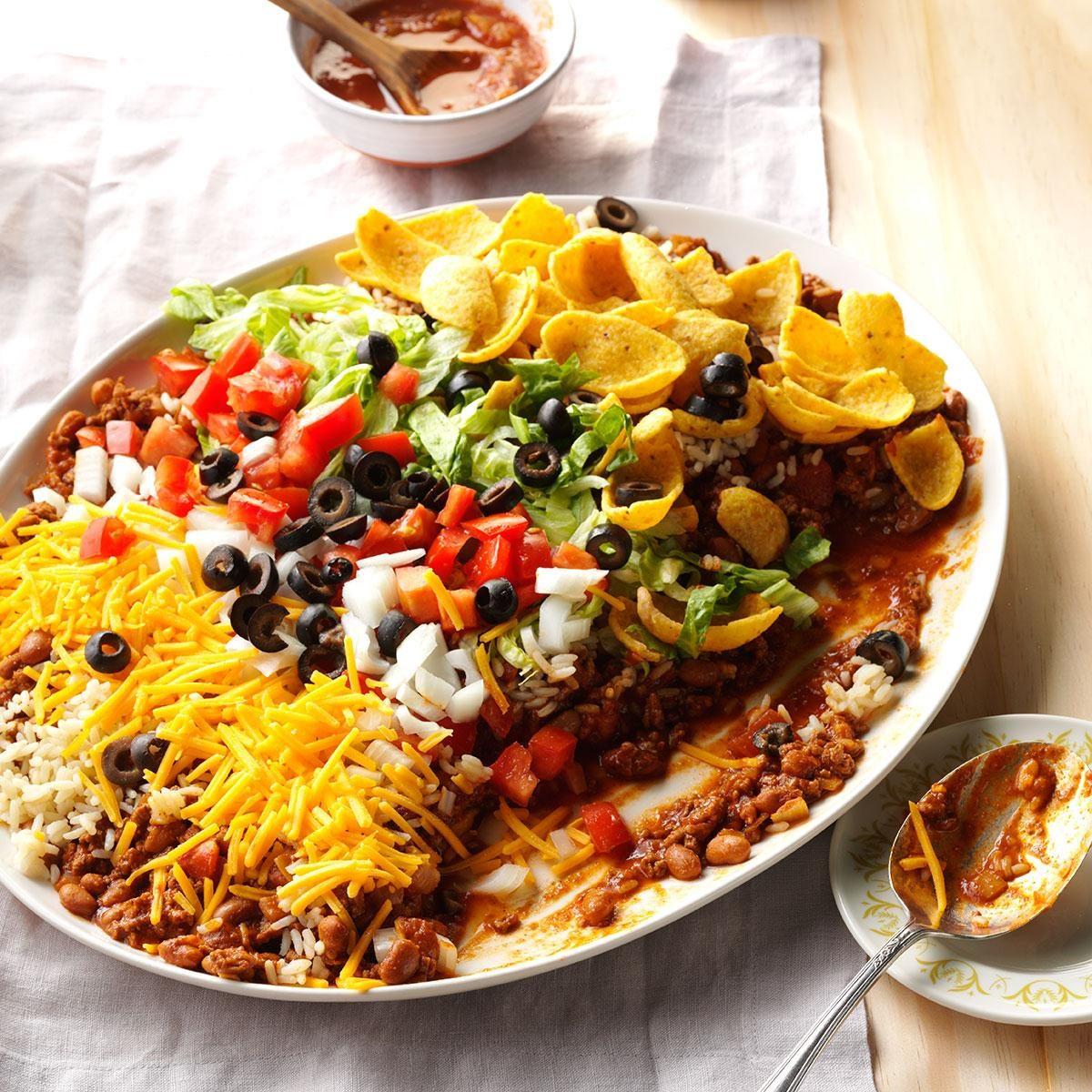 Texas: Texas Taco Dip Platter