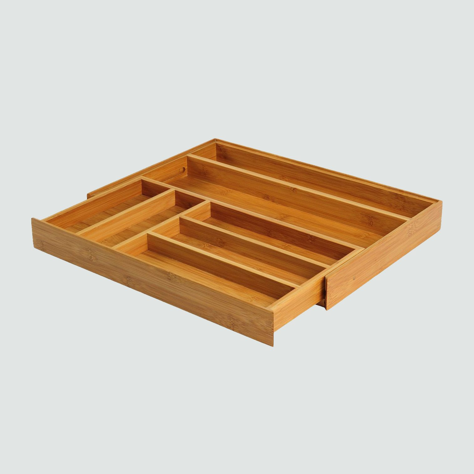 Threshold Bamboo Expandable Flatware Drawer Organizer